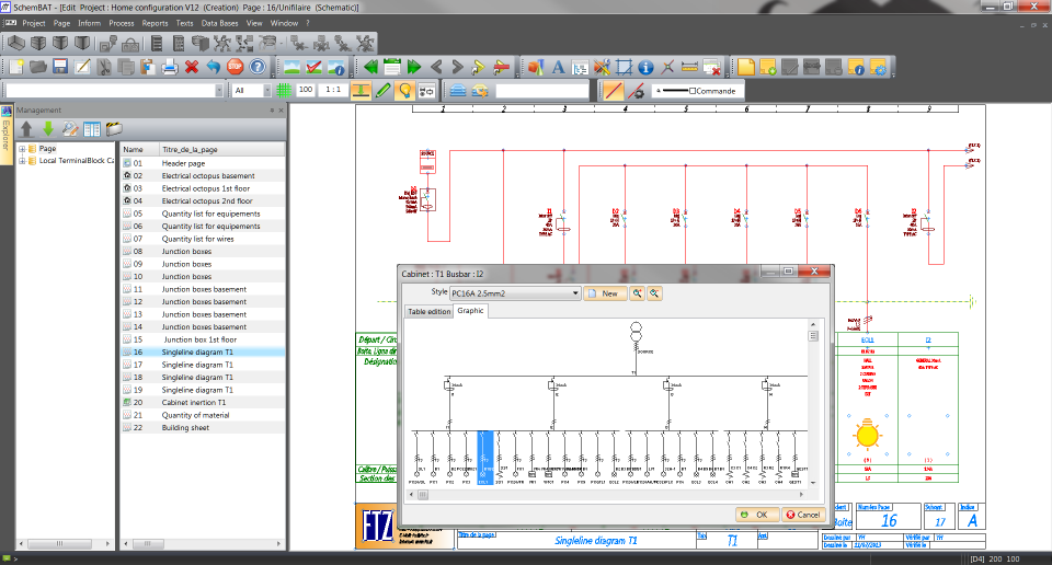 Electrical Single Line Diagram Software - Example Electrical Wiring ...