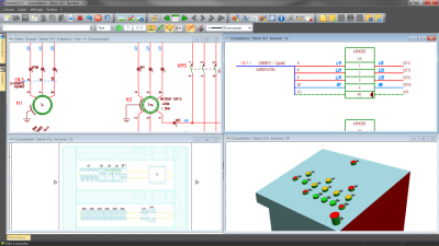 cad software electric diagram SchemELECT